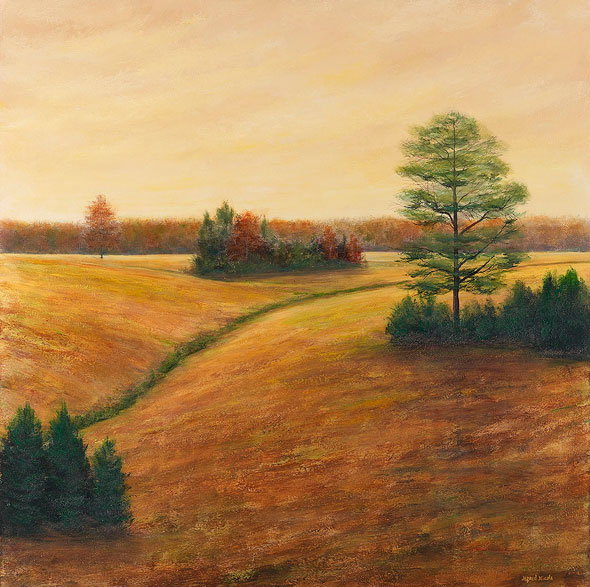 Kemper County Pastures Large Painting